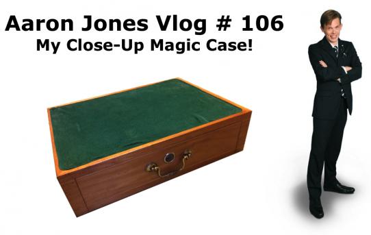 My Close-up Magic Case! : Aaron Jones Vlog # 106