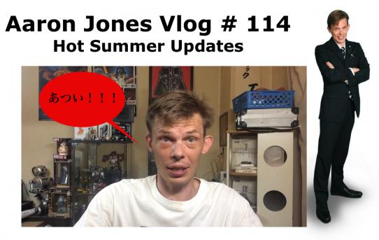 Hot Summer Updates : Aaron Jones Vlog # 114