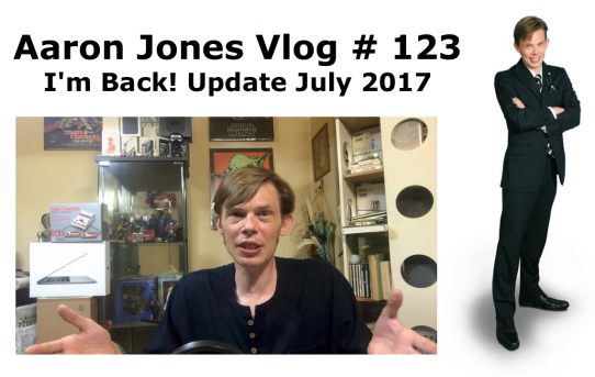 I'm Back! Update July 2017: Aaron Jones Vlog #123