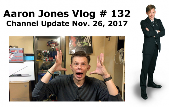 Channel Update Nov. 26, 2017 : Aaron Jones Vlog #132