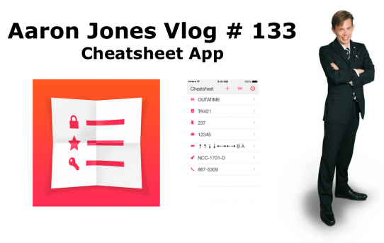 Cheatsheet App : Aaron Jones Vlog #133