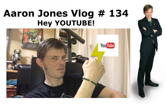 Hey! YOUTUBE! : Aaron Jones Vlog #134